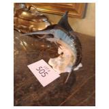 Vintage goebel blue marlin