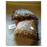 Axis Deer Hide Pillows