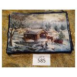 Winter Scene Placemats set of 12