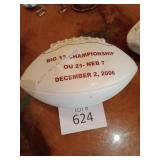 Big 12 Championship Ball OU