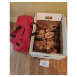 Wood Shoe Stretchers with Bag