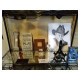 Wood and steel I, Metal Sign, Picture Frame,