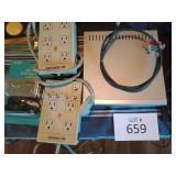 VCR TV 10 DB signal amplifier, cyber home DVD