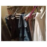 Six corduroy pants six jeans one khaki one dress