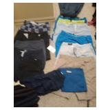 11 pair of shorts 38 to 40s one jogging pants