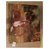 Dog painting- Shalla 2001