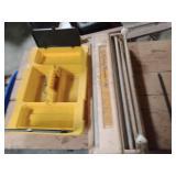 Paste Master Jr and  plastic tool organizer