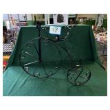 Wrought Iron Bicycle Flower Pot Holder