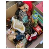 Assortment of Toys, Baby Dolls, Barbie, Books