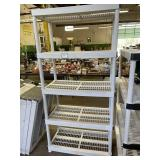 Plastic 5 Shelf Unit