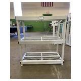 Plastic 3 Shelf Units