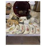 Assortment of Dishes & Decor