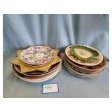 (17) Assorted Plates