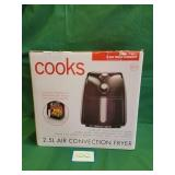 NIB Cooks Air Fryer