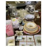 Plastic Houseware Items Platter, Bowls,
