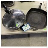 NEW Presto Pressure Cooker & Cast Iron Skillet