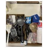 Assortment of Kitchen Utensils