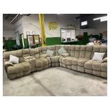 3 pc Micro Fiber Blend Sectional