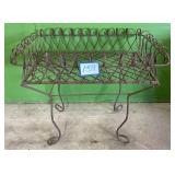Wrought Iron Elevated Plant Stand