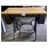 Singer Treadle Sewing Machine Base and Stand
