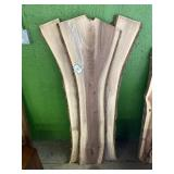 (3) Milled Lumber (Walnut)