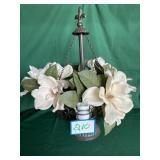 Flower w/ Candles Centerpiece