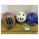 (3) Riding Helmets