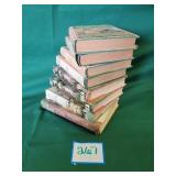 (8) Assorted Books The Bobbsey Twins, Bambi