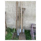 (7) Vintage Lawn Tools