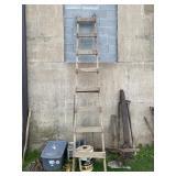 Vintage Homemade Farm Ladder