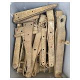 Assortment of Metal Hinges
