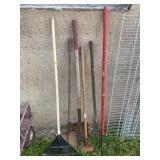Assortment of Lawn Tools
