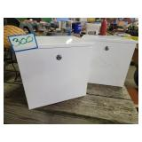 (2) Insulated Storage Boxes (No Key)