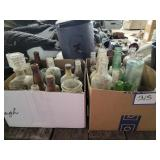 (3) Full Boxes of Antique Jars and Bottles