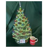 "24"" Ceramic Christmas Tree (Battery Operated)"