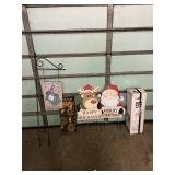 Assortment of Holiday Decorations
