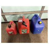 (3) Fuel Cans