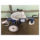Gorilla Cart Lawn Stool w/ pneumatic tires