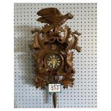 Vintage Cuckoo Cuckoo Clock w/Black Forest