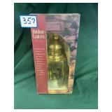 Solid Brass Outdoor Lantern (NIB)