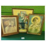 (3) Decorative Prints