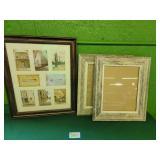 (3) Photo Frames