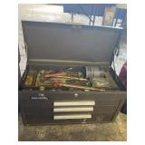 Kennedy 263B 3 Drawer Tool Chest and Contents