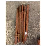 (6)Assorted Jack Hammer Bits
