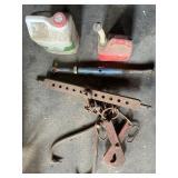 Tractor Drawbar, Chain & Tongs, Turnbuckle