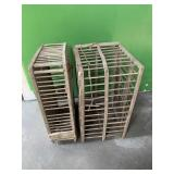 (2)Antique Poultry Coops
