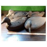(4)Cork Body Duck Decoys
