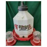 (2) Small (1) Large Chicken Waterer