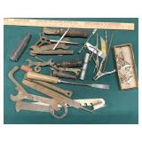 Assorted Wrenches and Tools