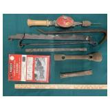 Craftsman Molding & Dado Guard, Hand Drill, and